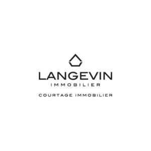 Langevin immobilier logo